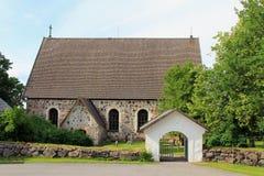 Karjaa教会,芬兰 免版税库存照片