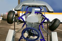 Kark poco detalle del vehículo de la competición del coche Imagen de archivo