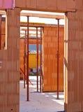 Karkas van een woningbouw Stock Foto