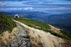 Karkonosze gór krajobraz Obraz Stock