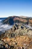 Karkonosze Landscape From Sniezka Mountain Royalty Free Stock Photos