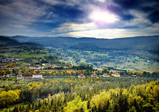 Karkonosze Mounatains in Poland Stock Photo