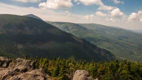 Karkonosze Mountain View Royalty Free Stock Photos