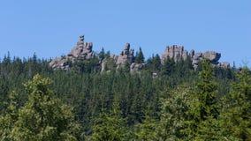 Karkonosze Mountain Views and Trekking Royalty Free Stock Image