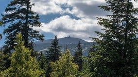 Karkonosze Mountain Views and Trekking Royalty Free Stock Photo
