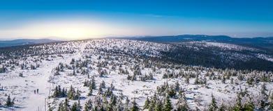 Karkonosze mountains panorama Royalty Free Stock Photo