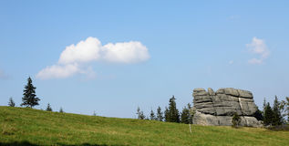 Karkonosze mountains in Poland Stock Photography