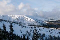 Karkonosze mountains at sunny day Royalty Free Stock Photos
