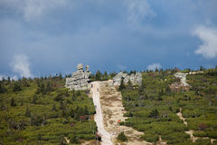 Karkonosze National Park Landscape Royalty Free Stock Images