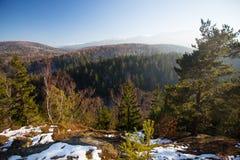 Karkonosze Poland, in winter. Royalty Free Stock Photos