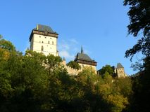 Karlštejn - the Castle Royalty Free Stock Photos