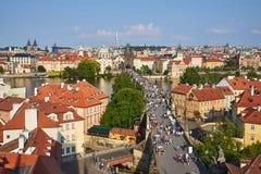 Karlův najwięcej, Praga, republika czech obrazy stock