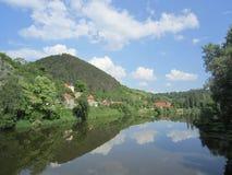 KarlÅ-¡ tejn, Tschechische Republik Stockbilder