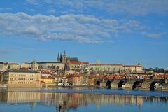 Karl Bridge, Prag Stockbild