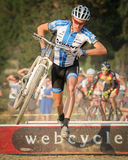 Karl-Decker - USA Cyclocross Pro Lizenzfreies Stockbild