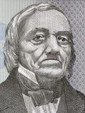 Karl Ernst von Baer portrait. From Estonian money Royalty Free Stock Photo