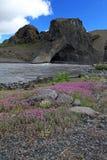 Karl et Kerling, Islande photo libre de droits