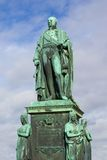 Karl Friedrich Statue 1 Royalty Free Stock Photos