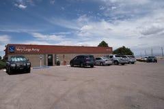 Karl G Les visiteurs de Jansky Very Large Array centrent au Nouveau Mexique image stock