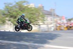 Karl Harris TT 2014 imagem de stock royalty free