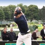 Karl Hyokki, European long drive contest Royalty Free Stock Photo