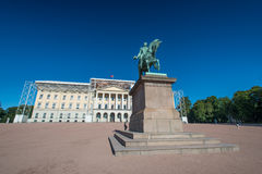 Karl Johan statue Royalty Free Stock Photo