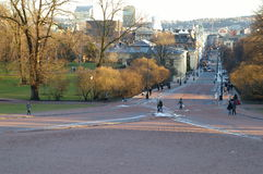 Karl Johans Gate Stock Images