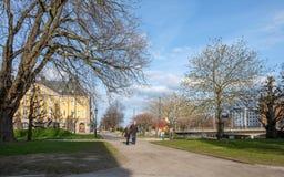 Karl Johans park, Norrkoping, Sweden Stock Photography
