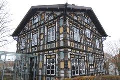 Karl Junker House en Lemgo, Alemania imagen de archivo