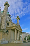 Karl-Kirche Stockbilder