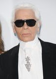 Karl Lagerfeld. Arriving for AmfAR's Cinema Against Aids gala 2012 during the 65th annual Cannes Film Festival Cannes, France. 24/05/2012 Picture by: Henry Royalty Free Stock Photo