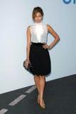 Karl Lagerfeld,Eva Mendes Stock Image