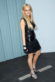 Karl Lagerfeld, Lindsay Lohan Stock Images