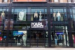 Karl Lagerfeld-Speicher in Berlin, Deutschland stockbild
