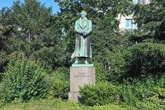 Karl Leberecht Immermann Monument em Dusseldorf, Alemanha Fotos de Stock