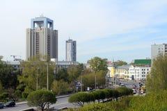 Karl Liebknecht street in Ekaterinburg Royalty Free Stock Photos