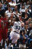 Karl Malone Utah Jazz image libre de droits
