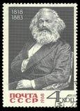 Karl Marx 库存图片