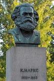 Karl Marx image libre de droits