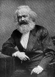 Karl Marx Photo stock