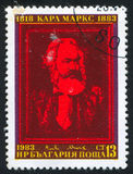 Karl Marx 免版税库存照片