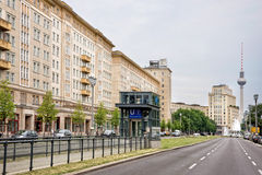 Karl-Marx-Allee Royalty Free Stock Photos