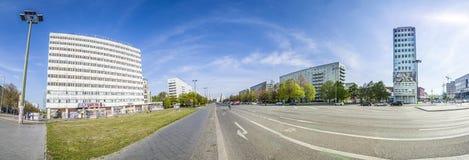 Karl-Marx-Allee, a monumental socialist boulevard  Royalty Free Stock Photo