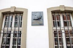 Karl Marx dom Obrazy Stock