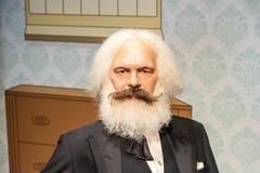 Karl Marx Figurine At Madame Tussauds-Wasmuseum royalty-vrije stock foto's