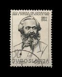 Karl Marx, First International anniversary, circa 1964, Royalty Free Stock Images
