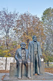 Karl Marx and Friedrich Engels at Berlin, Germany Stock Photography