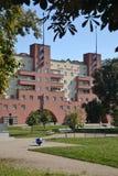 Karl Marx Hof (Court), Vienna Austria, Werkbund Estate Stock Images