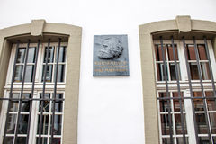 Karl Marx House Stock Images