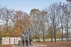 Karl Marx i Friedrich Engels w Berlin, Niemcy zdjęcie stock